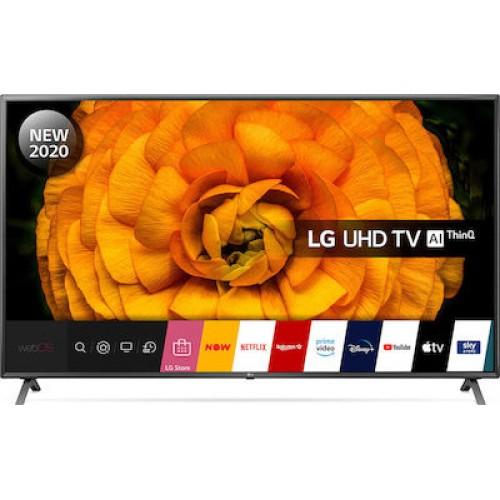 """Τηλεόραση LG 86UN85006LA 86"""" Smart 4K TV"""