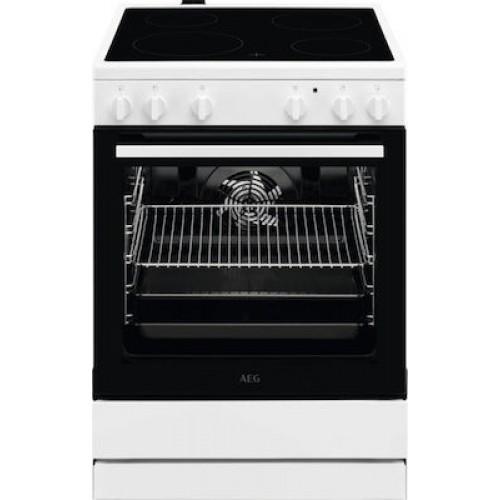 Κουζίνα AEG 73lt με Εστίες Κεραμικές CCB6200ABW
