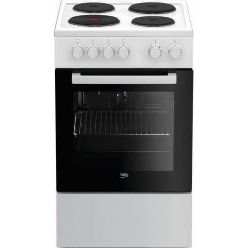 Κουζίνα Eμαγιέ Beko FSE 56000 GW