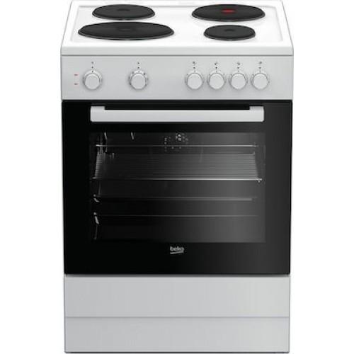 Κουζίνα Eμαγιέ Beko FSM 66000GWS