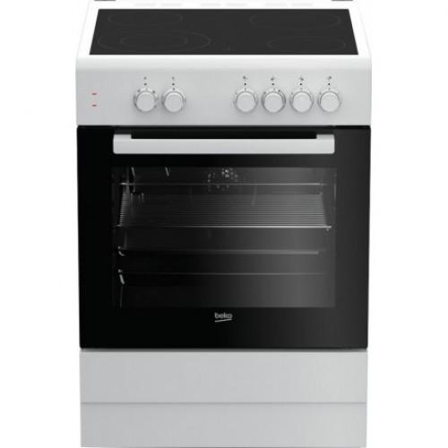 Κεραμική Κουζίνα Beko  FSM 67010GW