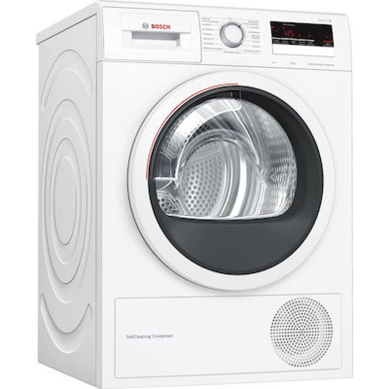 Στεγνωτήριο Ρούχων Bosch με Αντλία Θερμότητας WTM85268GR 8Kg A++