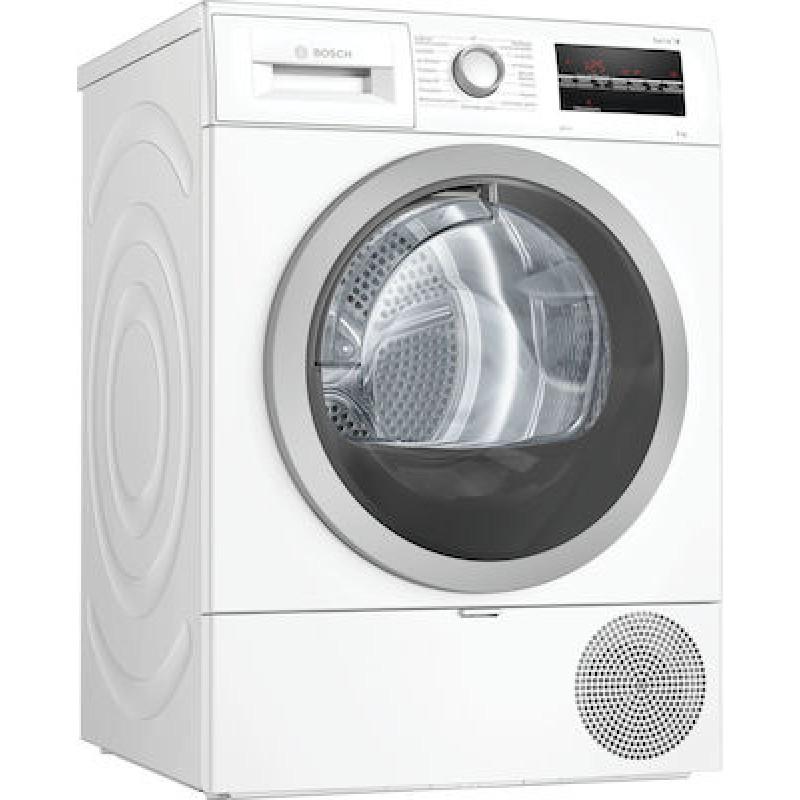 Στεγνωτήριο Ρούχων Bosch με Αντλία Θερμότητας WTR87TW8GR 8Kg A+++