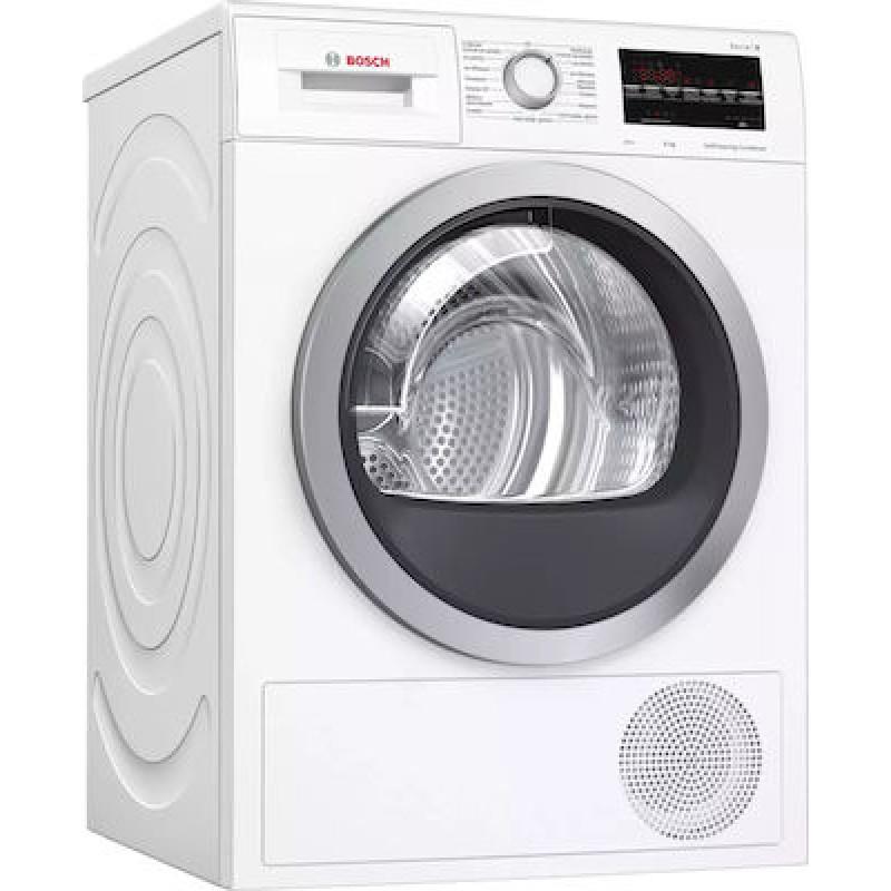 Στεγνωτήριο Ρούχων Bosch με Αντλία Θερμότητας WTW87461GR 8Kg A++