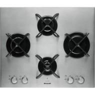 Εστία Αερίου Inox Brandt BPE6414X Αυτόνομη