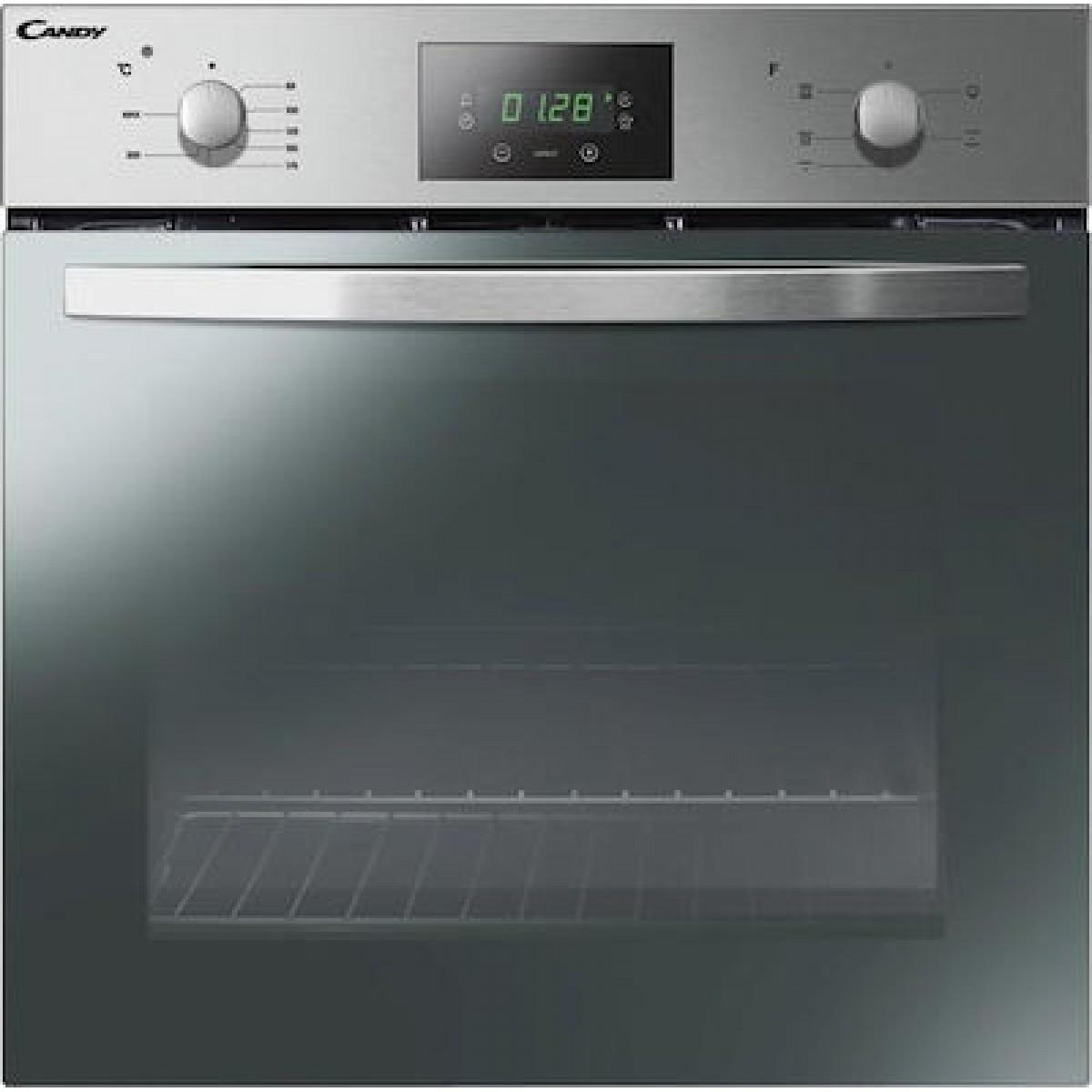 Φούρνος Candy FCS 605 X & Εστίες Κουζίνας Candy CH64CCB Σετ εντοιχισμού