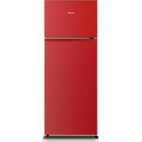 Δίπορτο ψυγείο Hisense RT267D4ARF 205Lt 60cm RED F