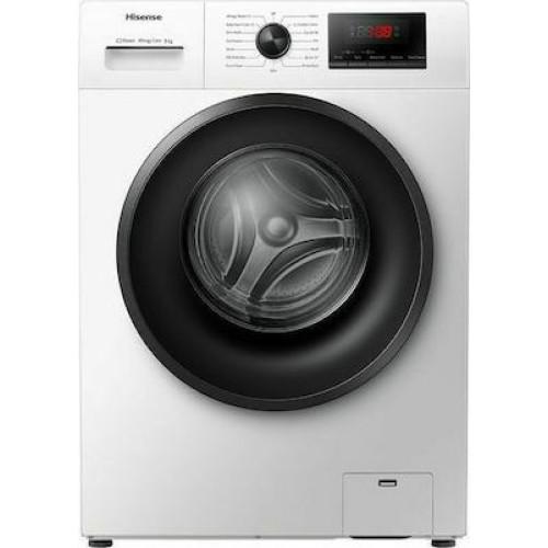 Πλυντήριο Ρούχων Ατμού Hisense WFPV8012 ΕΜ 8kg A+++