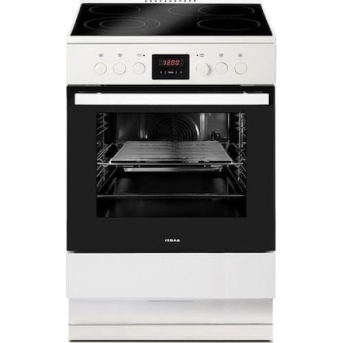 Ηλεκτρική Κουζίνα Κεραμική Izola ZL6013-334W