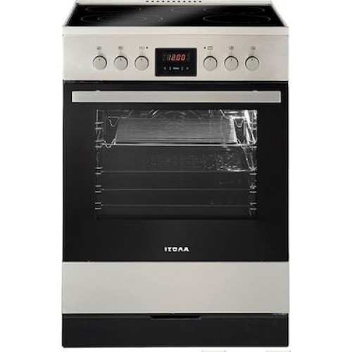 Κουζίνα κεραμική ΙΖΟΛΑ ZL6013-334X ΙΝΟΧ