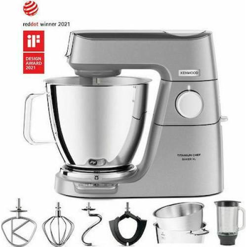 Κουζινομηχανή Kenwood KVL85.124SI Titanium Chef Baker XL