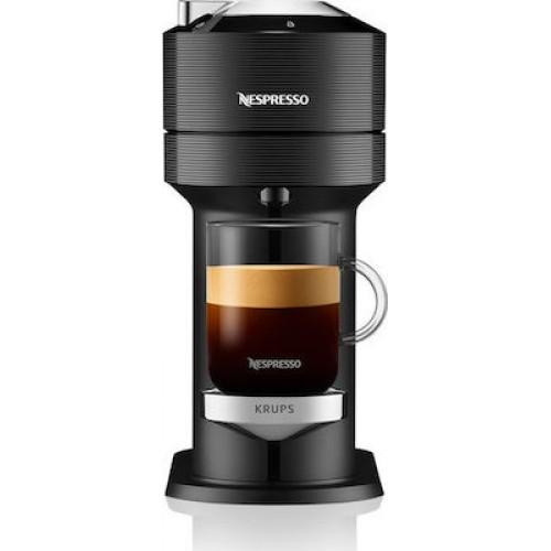 Μηχανή Nespresso Krups XN9108S Vertuo Next Classic Black (ΔΩΡΟ 12 κάψουλες)