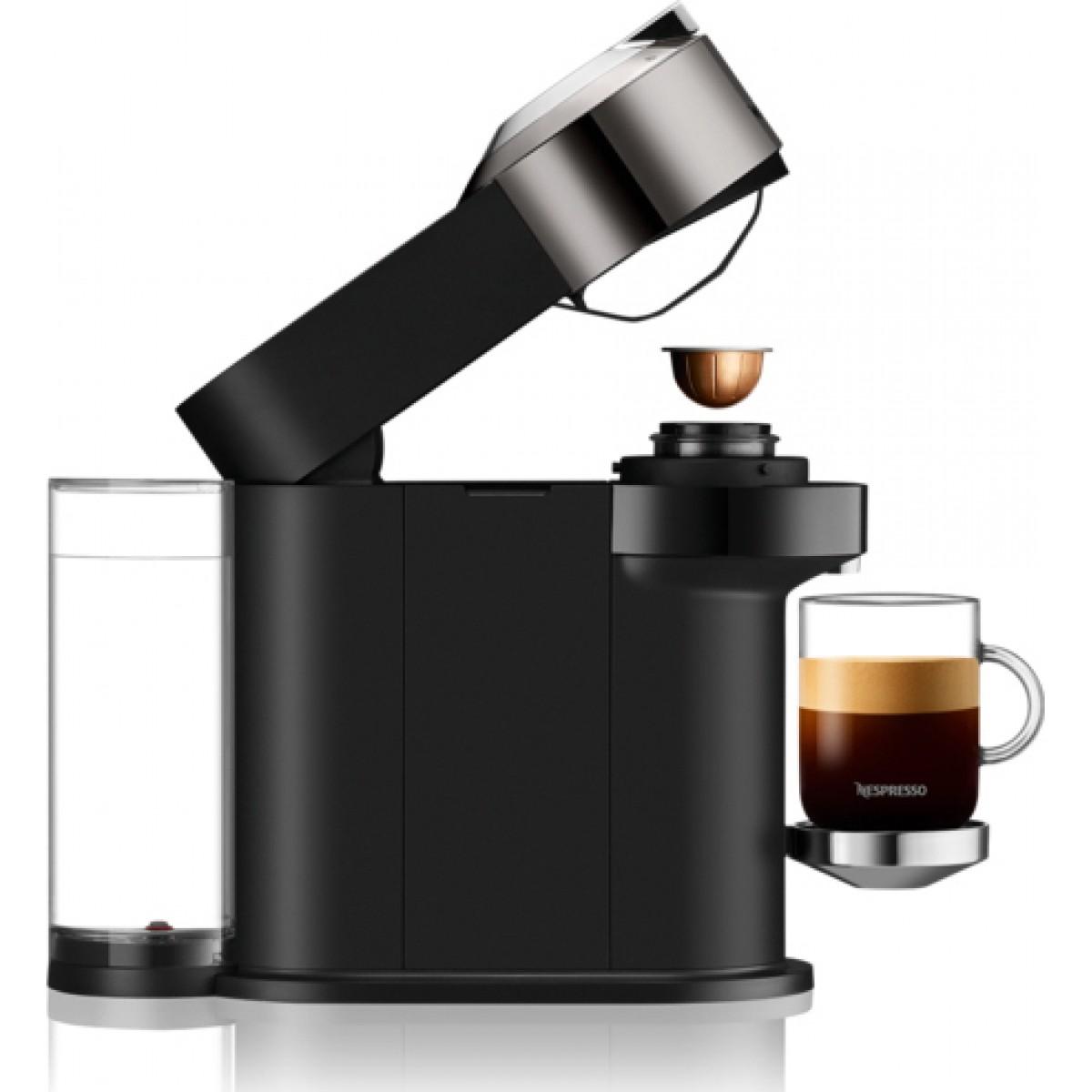 Μηχανή Nespresso Krups XN910CS Vertuo Next Deluxe Dark Chrome (ΔΩΡΟ 12 κάψουλες) Καφετιέρες