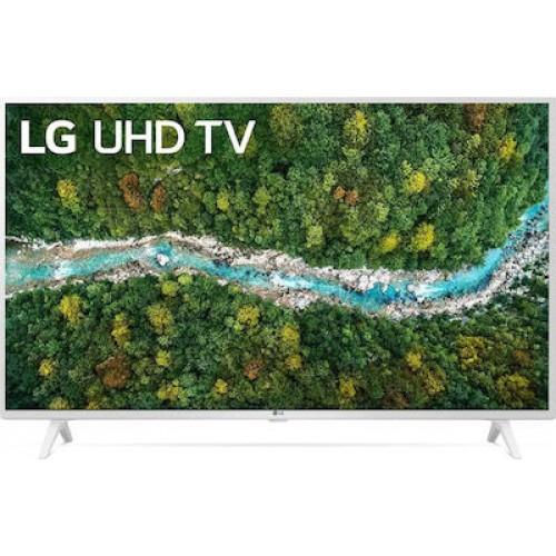 """Τηλεόραση LG Smart TV 43"""" 4K 43UP76906LE White"""
