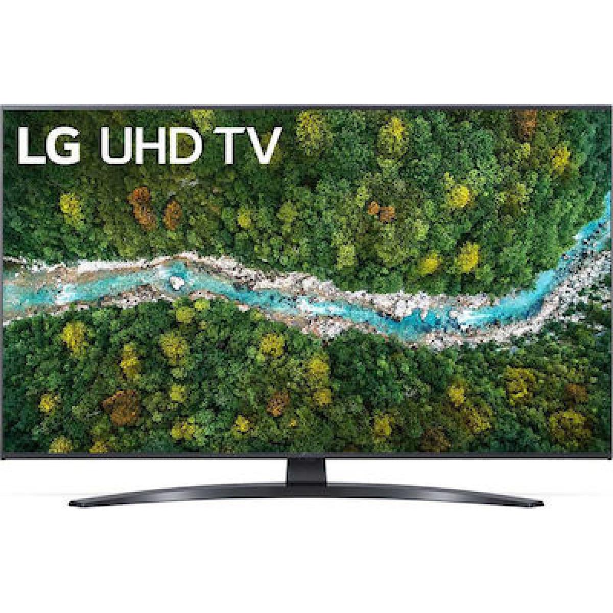 Τηλεόραση LG Smart TV 43'' 4K 43UP78006LB  Τηλεοράσεις