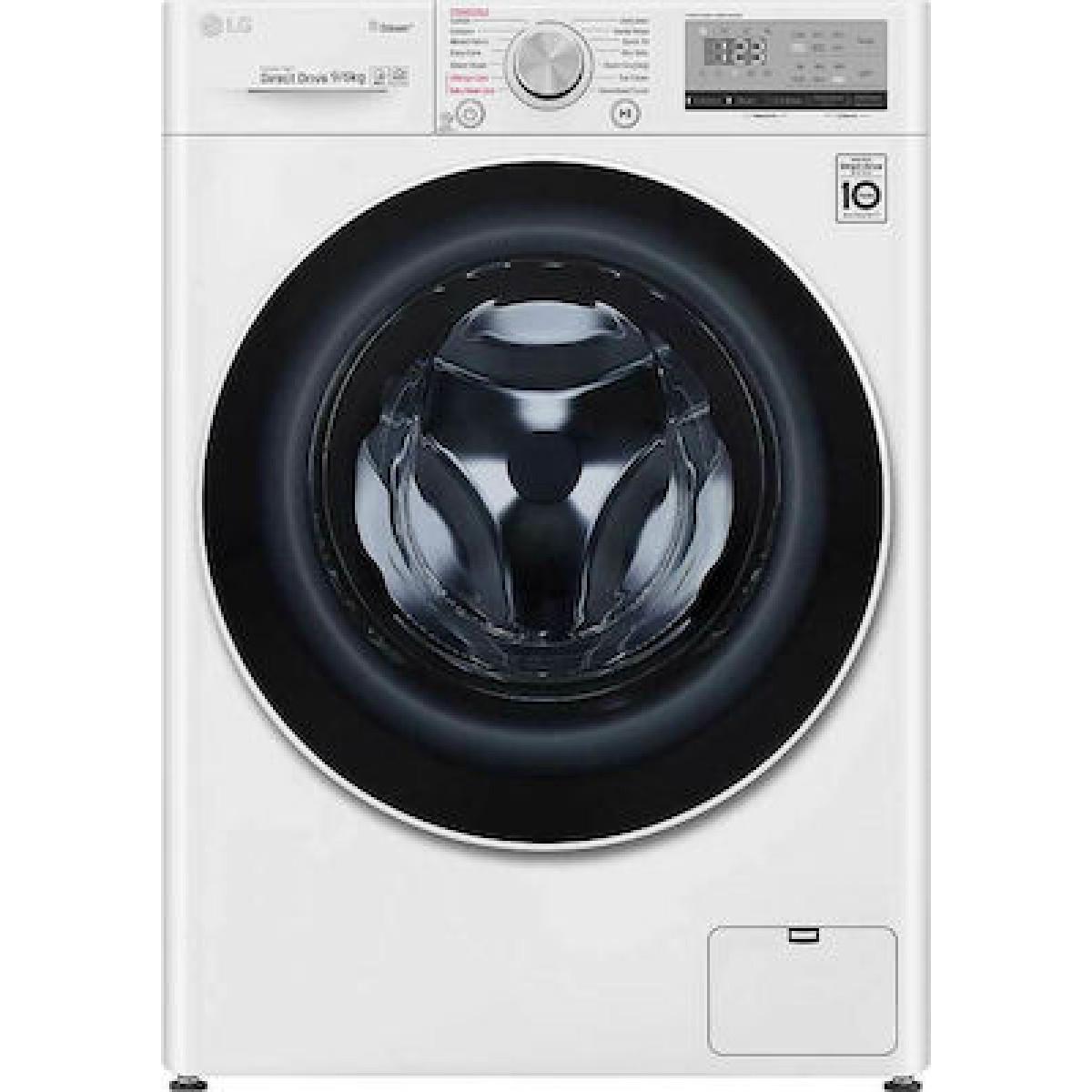 Πλυντήριο-Στεγνωτήριο LG F4DV509H0E 9 kg/6 kg Πλυντήρια-Στεγνωτήρια
