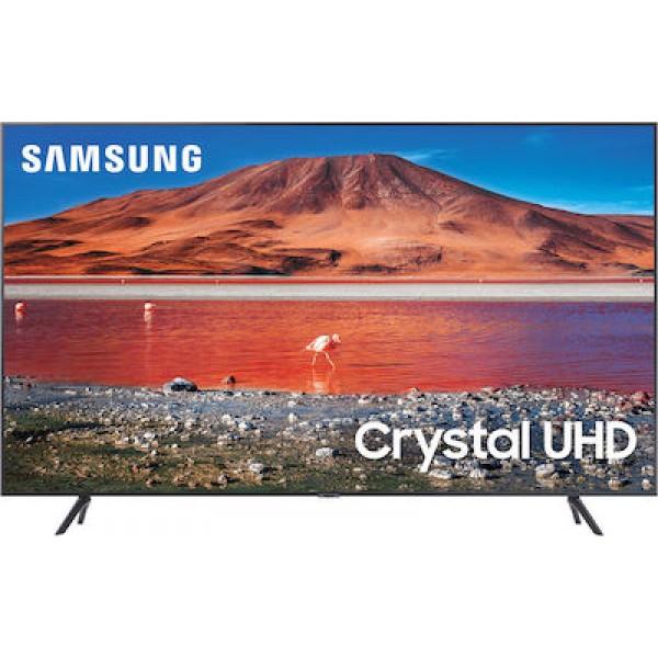 Τηλεόραση LED Samsung UE75TU7172UXXH Ultra HD Smart