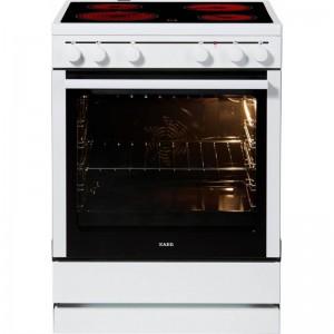 AEG 3000VL-WN Κουζίνα με Κεραμική Εστία Λευκή φούρνος MaxiKlasse 74 λίτρων  Κουζίνες