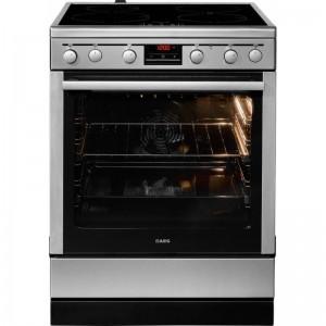 AEG 47056 IU-MN Κουζίνα MaxiKlasse 74L με Επαγωγικές Εστίες Κουζίνες