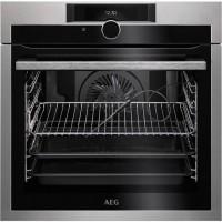 Εντοιχιζομενες κουζινες AEG BPE842320M Φούρνος Άνω Πάγκου Λευκές Συσκευές