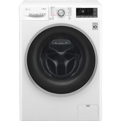 LG F4J7TY1W Πλυντήριο Ρούχων 8kg με Τεχνολογία Ατμού