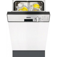 Zanussi ZDN11003XA εντοιχιζόμενο πλυντήριο πιάτων 45cm Πλυντήρια