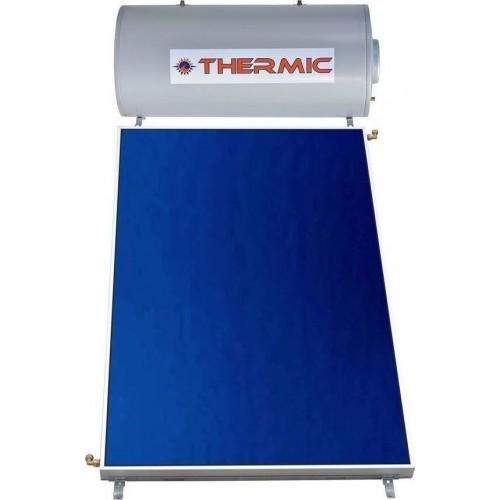 Thermic CT GL Glass Ηλιακός Θερμοσίφωνας 120 λίτρα, 2 τμ Διπλής Ενέργειας επιλεκτικός συλλέκτης