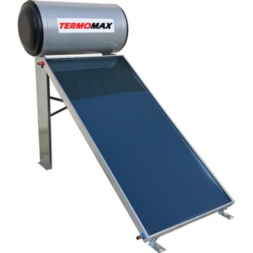 Gauzer Termomax 160lt/2.4m² Glass Διπλής Ενέργειας