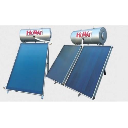 Ηλιακός Θερμοσίφωνας Howat 160LT/2.30 m2, Glass, Διπλής, Επιλεκτικός συλλέκτης