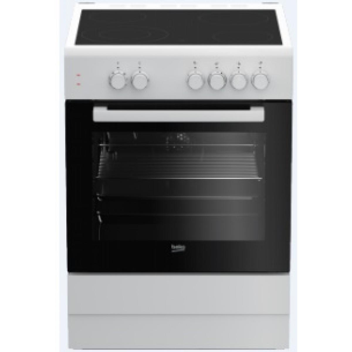 Κουζινες - Beko Ηλεκτρική Κεραμική Κουζίνα FSM 67010 GW Κουζίνες κεραμικές Ηλεκτρικες Συσκευες - homeelectrics.gr