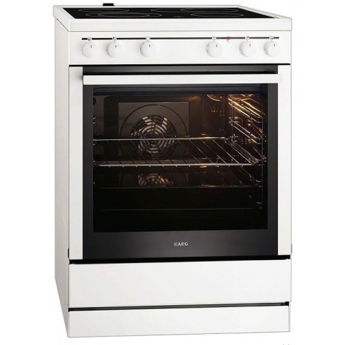 AEG Κουζίνα Κεραμική 30006 VL-WN (73Lt A)