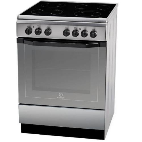 Indesit Κεραμική Κουζίνα I6VMH2A(X)/GR