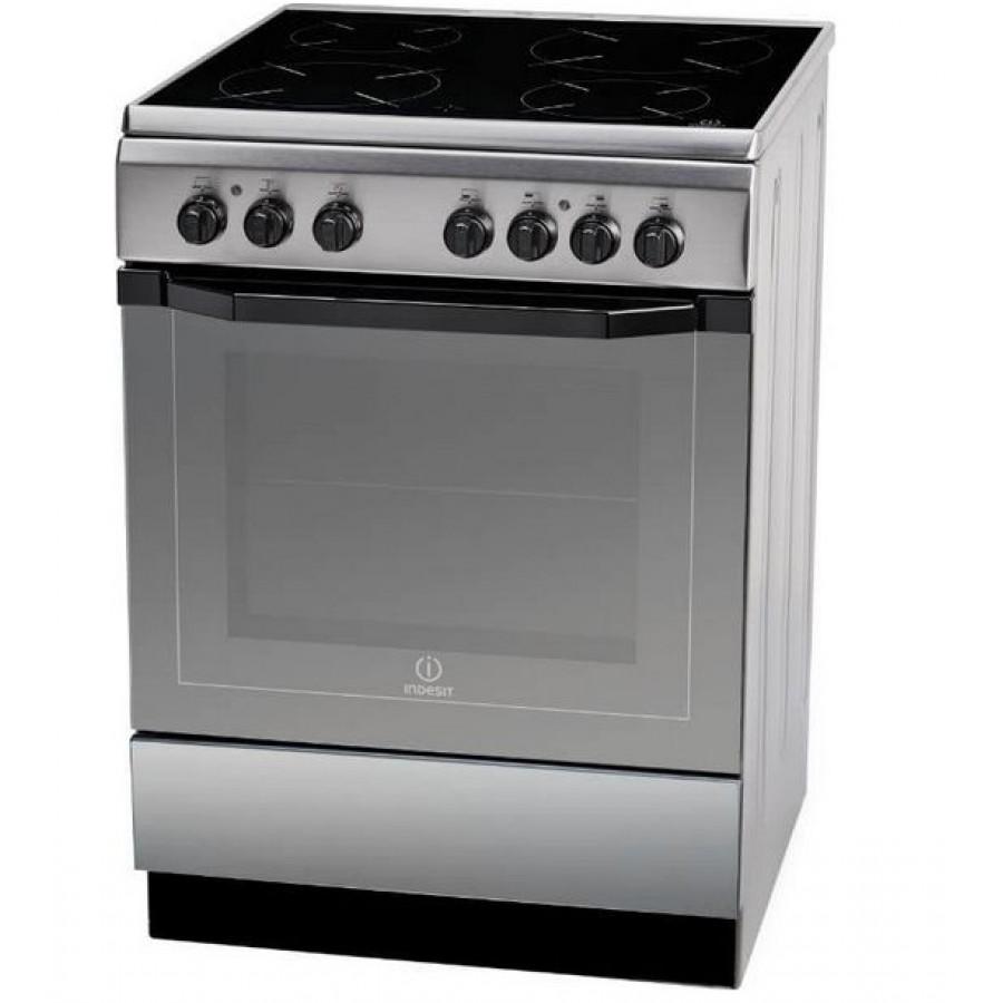 Κουζινες - Indesit Κεραμική Κουζίνα I6VMH2A(X)/GR Κουζίνες κεραμικές Ηλεκτρικες Συσκευες - homeelectrics.gr