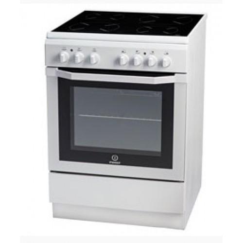 Indesit Κουζίνα Κεραμική I6VMH2A(W)/GR Λευκό