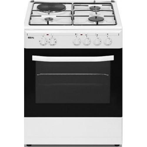 Ideal IDCG6415W Kουζίνα Μεικτή-Αερίου