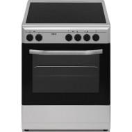 Ideal IDCM 6060 CEX κουζίνα με Κεραμική Εστία Inox A