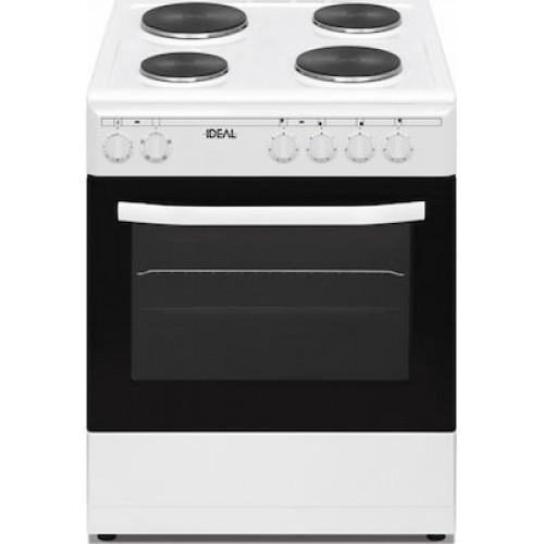 Ideal IDCM 6060 ENW Εμαγιέ Κουζίνα