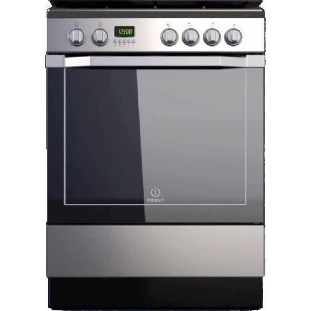 Κουζινες - Indesit I6VMC6A (X) GR POP Κουζίνες κεραμικές Ηλεκτρικες Συσκευες - homeelectrics.gr