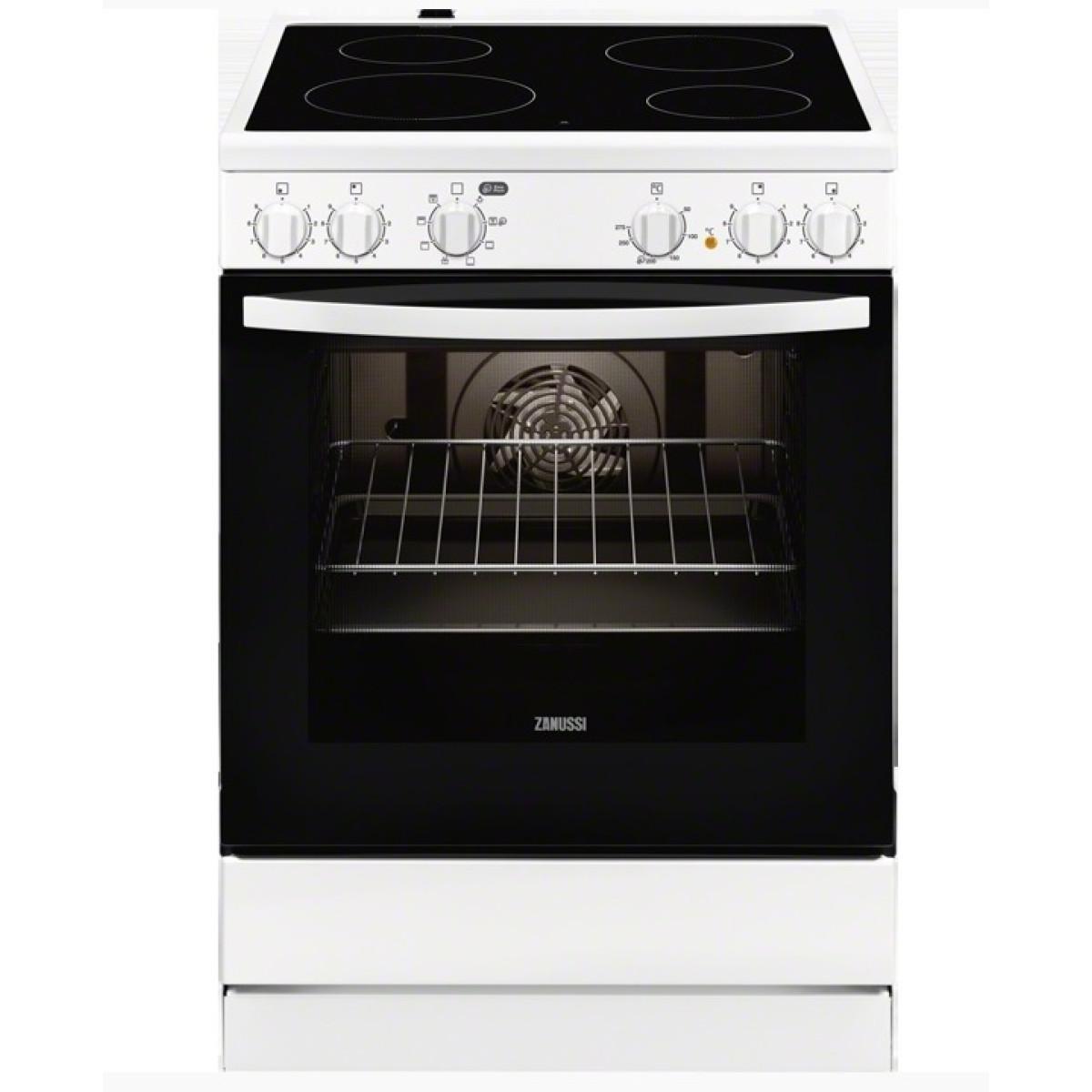 Κουζινες - Zanussi Κουζίνα Κεραμική ZCV65050WA (72Lt A) Κουζίνες κεραμικές Ηλεκτρικες Συσκευες - homeelectrics.gr