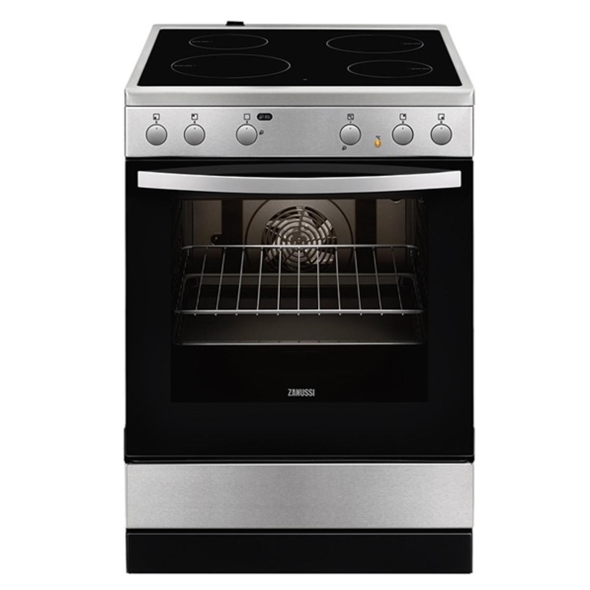 Κουζινες - Zanussi Κουζίνα Κεραμική ZCV65020XA (72Lt A) Κουζίνες κεραμικές Ηλεκτρικες Συσκευες - homeelectrics.gr