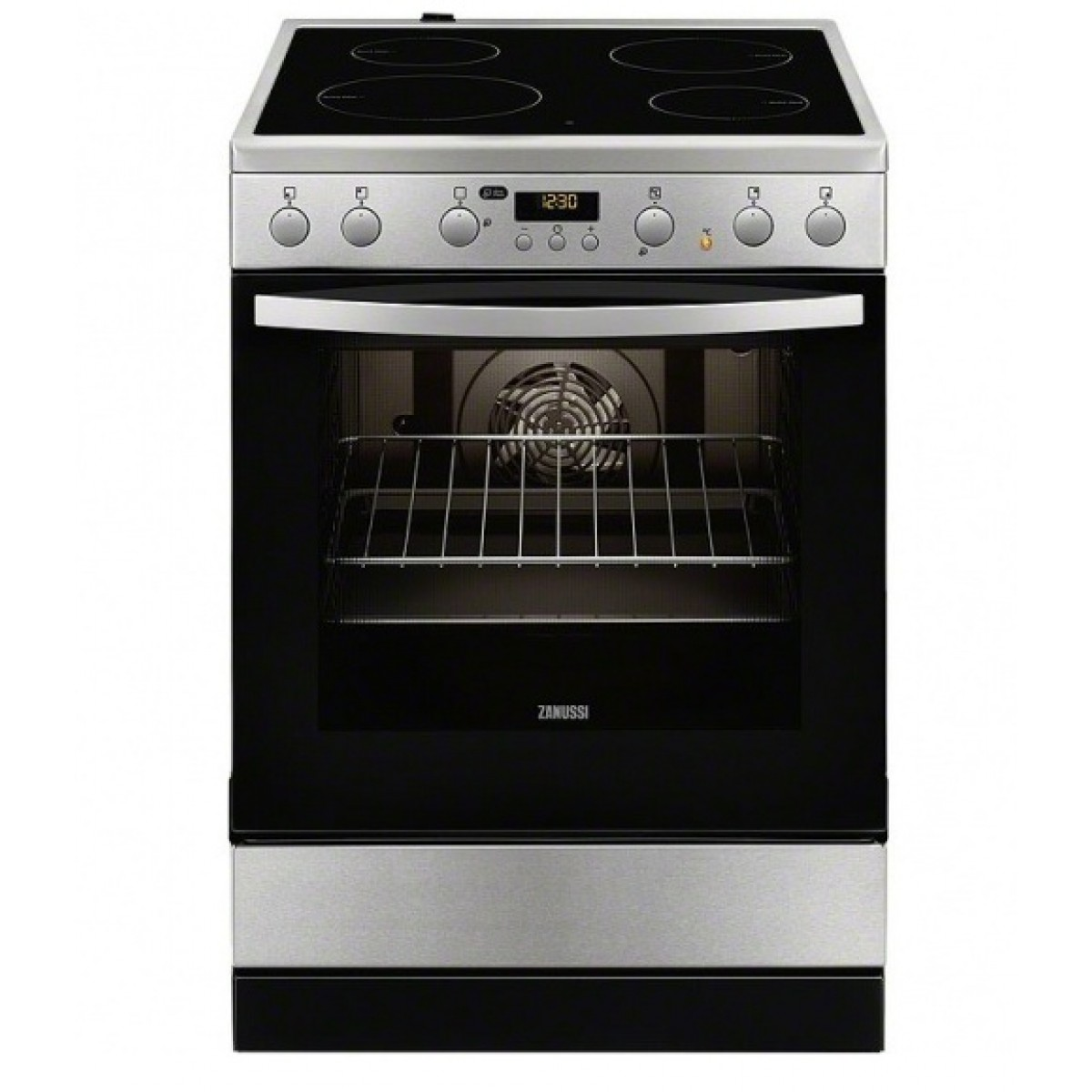 Κουζινες - Zanussi Κουζίνα Κεραμική ZCV65320XA (72lt A) Κουζίνες κεραμικές Ηλεκτρικες Συσκευες - homeelectrics.gr