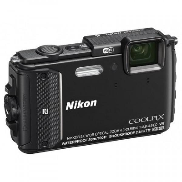 Nikon Coolpix AW130 Black Outdoor kit