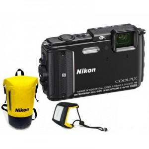 Nikon Coolpix AW130 Black Diving kit Εικόνα-Ήχος