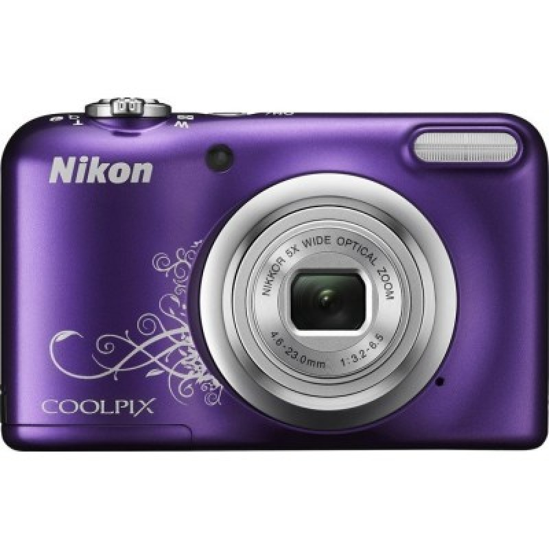 Nikon Coolpix A10 Purple Lineart + Θήκη Nikon