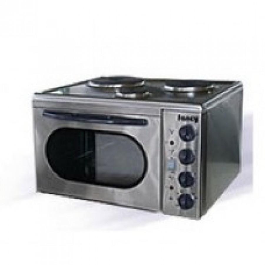 FANCY ΦΟΥΡΝΑΚΙ 3 ΕΣΤΙΩΝ INOX Κουζινάκια Ηλεκτρικες Συσκευες - homeelectrics.gr