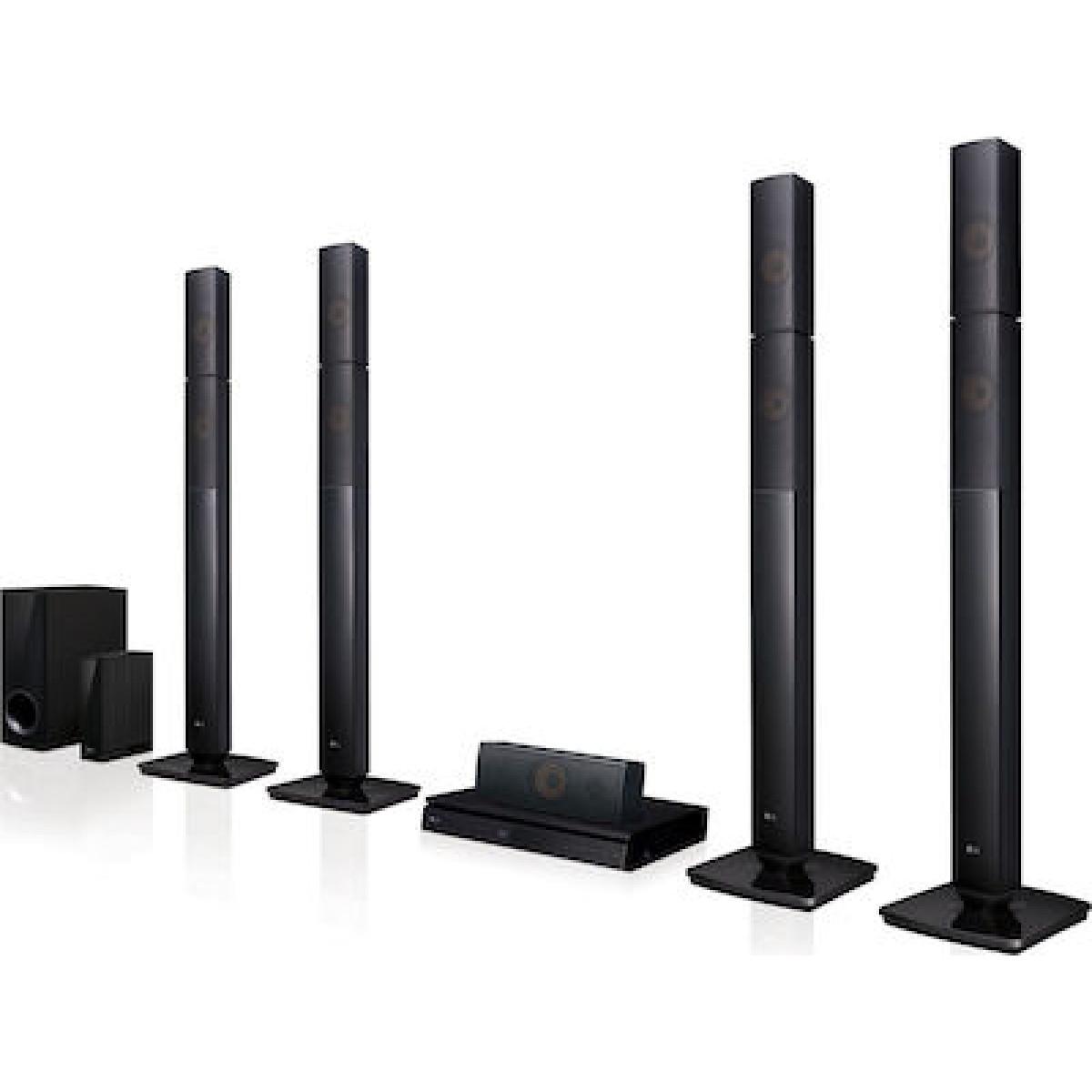 LG Home Cinema LHB655NW Hi - Fi Ηλεκτρικες Συσκευες - homeelectrics.gr