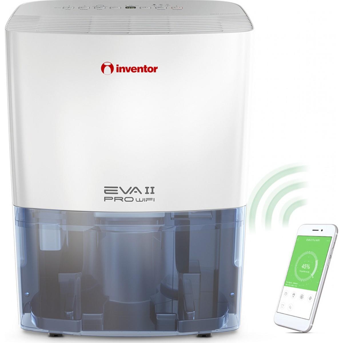 Αφυγραντήρας Inventor EVA II PRO EP3-WiFi 16L Συσκευές Αφύγρανσης
