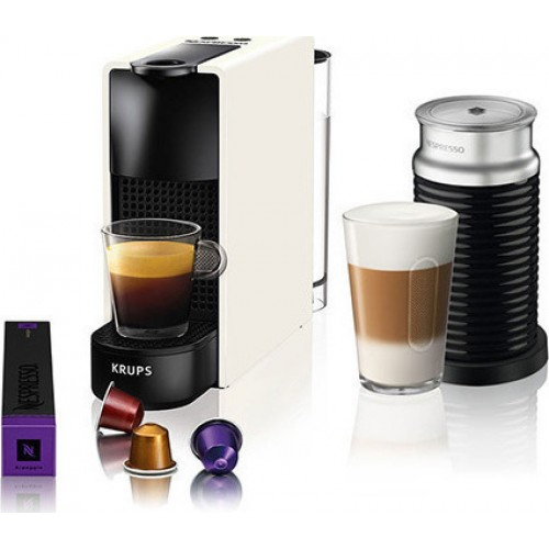 Nespresso Krups Essenza Mini & Aeroccino XN1111S &  Δώρο Κουπόνι για Κάψουλες αξίας 30 Ευρώ
