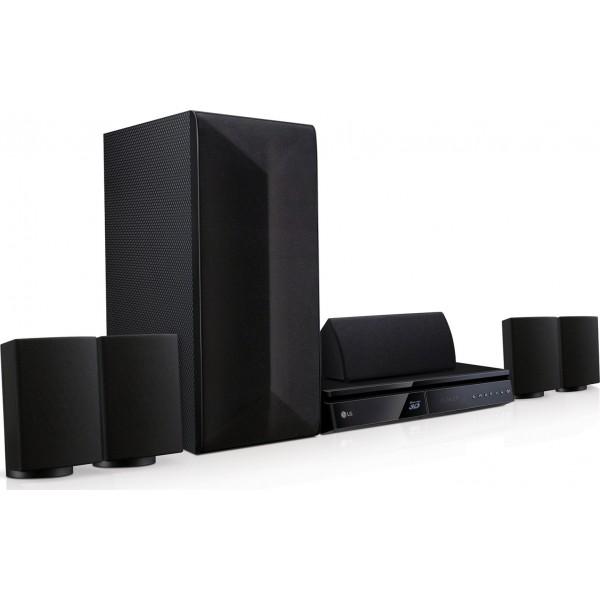 LHB625M LG Home Theater 3D Blu-ray™ / DVD / Ήχο 5.1 Καναλιών 1000W