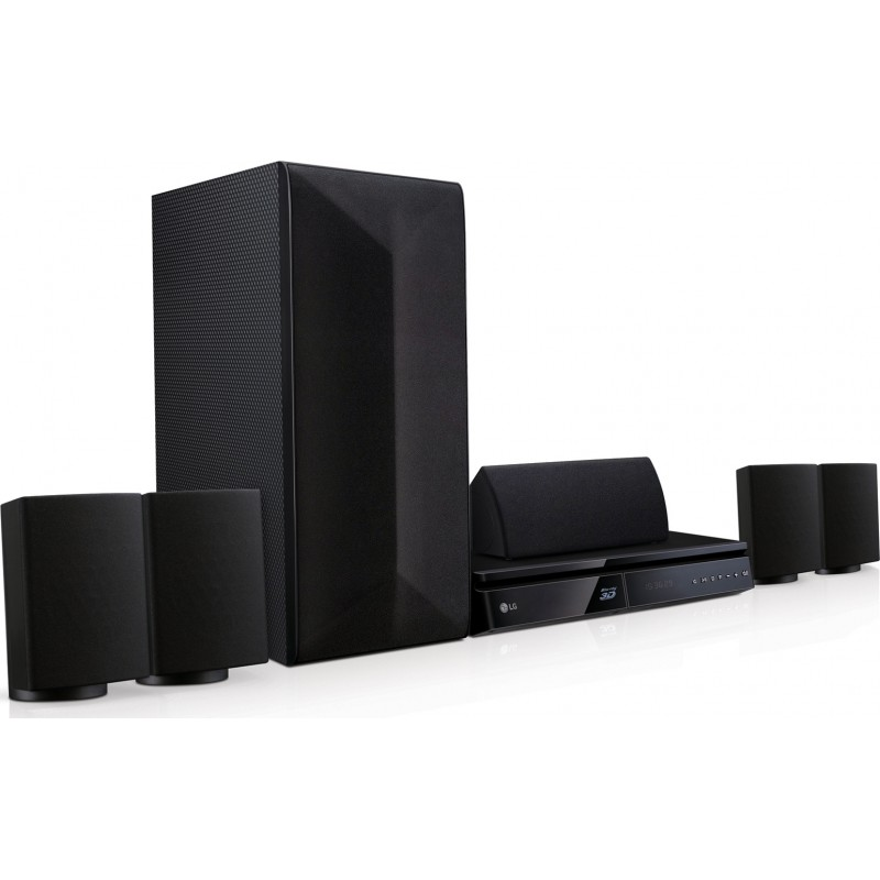 LHB625M LG Home Theater 3D Blu-ray™ / DVD / Ήχο 5.1 Καναλιών 1000W